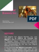 San Miguel Brewey Inc
