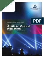 Artificial Optical Radiation