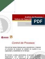 Análisis de Procesos Capacidad y Límites de Control