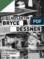 2017-10-20 Programmheft Reflektor Bryce Dessner