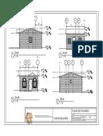 Casa Modular - Plano - 03 - PLANO de FACHADAS CASA M (Recuperado)