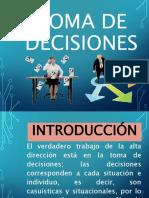Toma de Decisiones Alumnos