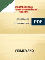 OLIMPIADA DE MATEMATICAS FASE ZONA 2016..pptx