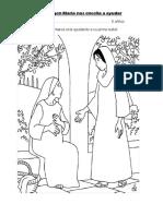 La Virgen Maria Nos Enceña a Ayudar