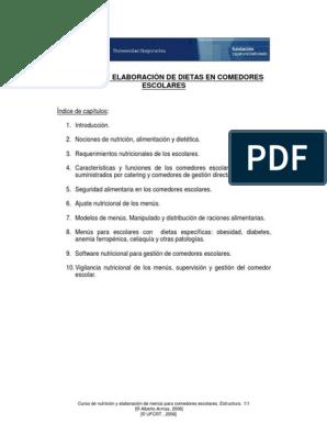 Dieta para corredores pdf