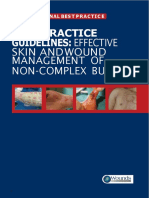 Content Woundcare Effective Skin and Wound Management of Non-complex Burns BestPracticeGuidelines