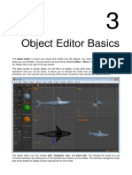 Anim8or Manual Chapter 3 Object Editor Basics