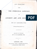 an Inquiry Into the Symbolic Language 1836 Knight