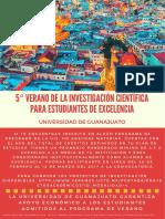 Programa de Verano Universidad Guanajuato
