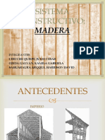 Proceso Constructivo Madera