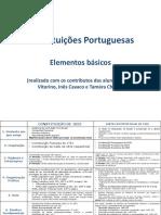 DC II - Quadro Constitui Es Portuguesas