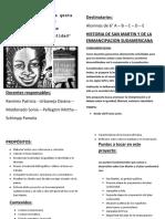 Proyecto Bicentenario de La Gesta Libertadora Sanmartiniana