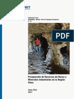 GEOLOGIA ECONOMICA - Prospección de Recursos de Rocas y Minerales Industriales en La Región Piura
