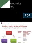 Leaderonomics - Entrepreneurship Mastery MEALCON 2010