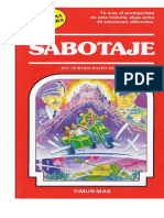 "LibroJuego ""Elige tu propia aventura"" 28 Sabotaje"