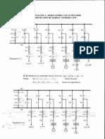 Corrientes análisis protección diferencial de barra