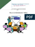 Etica en La Administracion Publica