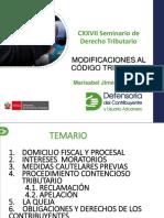CXXVII Dcho Tributario 2017