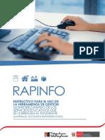 Instructivo RAPINFO