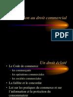 Lecon 1 de Droit Commercial