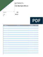 Modelo Factura Openoffice Calc