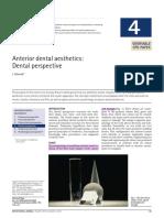 2005 Br Dent J- Anterior Dental Aesthetics- Dental Perspective