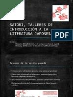 Diapositivas de La Segunda Sesion - Literatura Japonesa