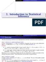 1 Introduction to Statistical Inference