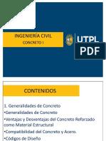 Presentaciones Concreto 1era Clase