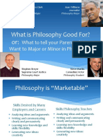 What is Philosophy Good for 2017