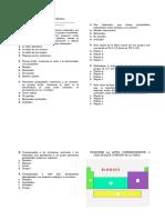 Cuestionario Sexto Tabla Periódica