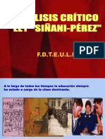 Critica Siñani - Perez