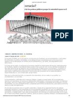 ¿Qué Es La Oclocracia_ - Opinión Carlos j. Sarmiento Sosa El Universal