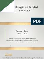 Cristología en La Edad Moderna