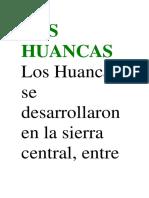 Los Huancas