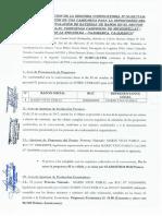 Acta de Evaluacion Camioneta Supervision Bateria Baños QB 2da Convocatoria