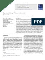 Paper Diseño de Experimentos