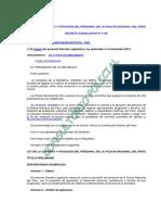 Dl. 1149 (Actualizado) Ley de La Carrera y Situación Del Personal de La Policía Nacional Del Perú