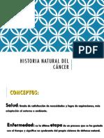 Historia Natural Del Cancer