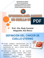 Presentación Cancer Cuello Uterino