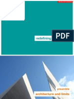 2010-06-24  redefining architecture