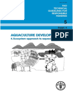 Aquaculture Development  FAO 5 technical guidelines for responsible fisheries