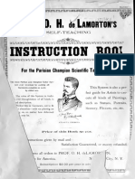 De Lamortons Parisian Champion Scientific Tailor System 1892