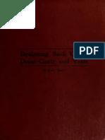 Designing Sack Coats Dress Coats and Vests 1918