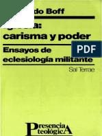 237443735-Boff-L-Iglesia-Carisma-y-Poder.pdf