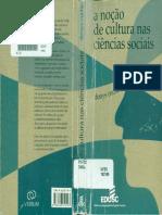 A Noção de Cultura Nas Ciencias Sociais