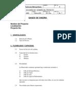 BASE DE DISEÑO