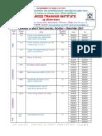 ATI Calicut Short Term Calendarv3