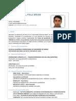 CV - Paul Rios