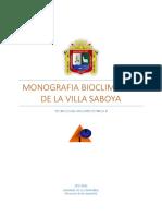 Monografia Bioclimatico de La Villa Saboya11
